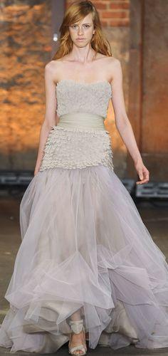 Great dress- needs better model!! Christian Siriano Spring 2012 rtw