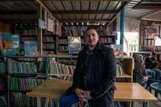 PHOTOS: Joy Of Books In Cape Town Library Born In Shipping Containers : Goats and Soda : NPR Library Rules, Used Shipping Containers, Online Publications, A Guy Who, Book Projects, Slums, Cape Town, The Borrowers