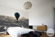 Fototapeta Balloon in the Sky fototapeta • Inspiracje • PIXERS.pl