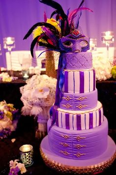 Purple Wedding Cakes Photos 2014 #wedding #cake #2014