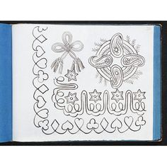 Embroidery design Place of origin: Great Britain, UK (made) Date: ca. (made) Artist/Maker: Bland, Sarah, born 1810 - died 1905 (made) Materials and Techniques: Pen and ink on tracing paper Credit Line: Given by Mrs D. Blackwork Embroidery, V & A Museum, Britain Uk, Sketch Books, Fashion Plates, Embroidery Designs, Number, Ink, Quilts