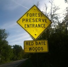 Red Gate Woods is a location I picked as when you pull up to the area you basically are in the center of the area of Archer Avenue I call the Stretch of Death, between St. James Cemetery and Fairmont Hills Cemetery. Pay attention to the number of road side memorials on between the two cemeteries.