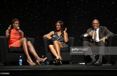 All-Star Lisa Leslie, actress Laila Ali and writer William C. Rhoden speak at the BET Revealed Seminars during the 2013 BET Experience at JW Marriott Los Angeles at L.A. LIVE on June 29, 2013 in Los Angeles, California.