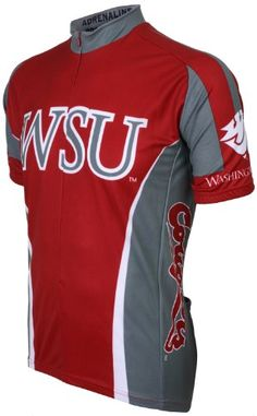 Adrenaline Promotions NCAA Washington State University Cougers - WSU Cycling  Jersey Bike Shoes ddc432ba9