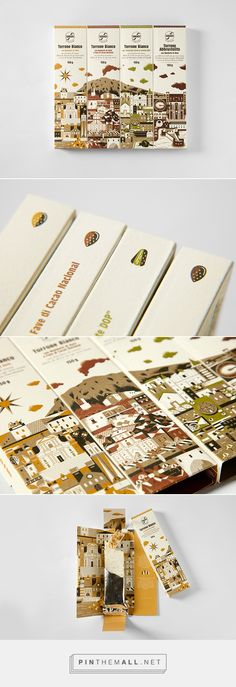 Sabadì – I Torroni on Behance... - a grouped images picture - Pin Them All