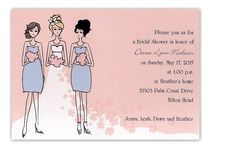 Flower Power Bridal Shower Invitation