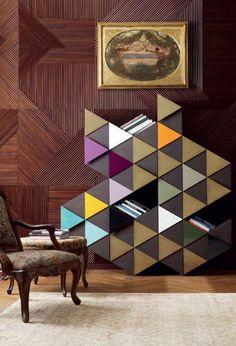 Arlequin C bookshelf available at Property Furniture http://propertyfurniture.com/collection/storage/arlequin-c-cabinet/