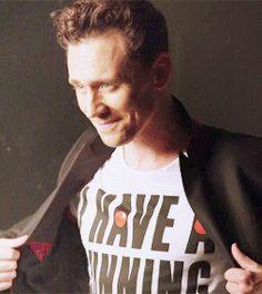 #TomHiddleston fashion shoot for Comic-Relief, 2015.  #RedNoseDay