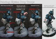 Afbeeldingsresultaat voor adeptus mechanicus colour schemes