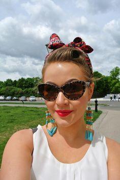 #dolceandgabbana vintage style sunglasses #leopard #sunglasses #cateye