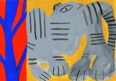 "One of 131 tigers produced for my now completed dissertation research [[MORE]]""There Are At Least 1000 Ways To Draw A Tiger"" is a body of visual research stemming from a dissertation discussing the ideas of identity, ""isolation"", ""obsession"" and. 3d Character, Character Concept, Robot Technology, Robot Art, Robots, Sci Fi Characters, Modern Artists, Retro Futurism, Recycled Art"