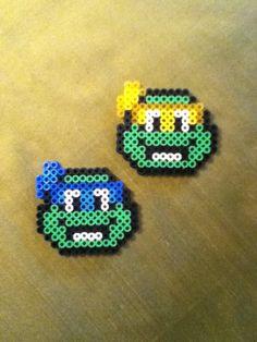 TMNT perler beads by Anna