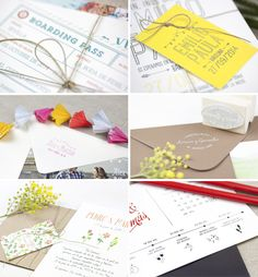 Project Party Studio-mosaico sorteo invitaciones boda