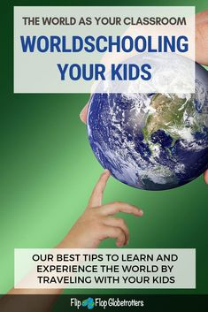 Worldschooling: how to make the world your classroom. Worldschooling is an amazing way to educate your kids while traveling. In this post we'll give you lots of ideas and tips for worldschooling your kids. Travel With Kids, Family Travel, Family Trips, Teaching Methods, All Family, Homeschooling, Montessori Homeschool, Mexico Travel, Educational Activities