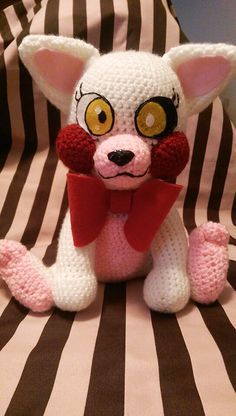 Mangle Crochet Five Nights At Freddy's FNAF by CuteDLoops on Etsy