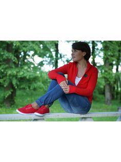 Кеды (красный)