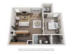 Floor Plans - 1250 West Apartments in Marietta, GA #marietta #georgia #apartment #steadfast