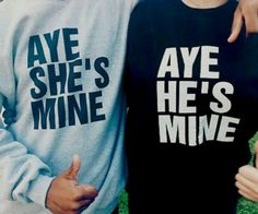 He's mine She's mine. I will get these one day