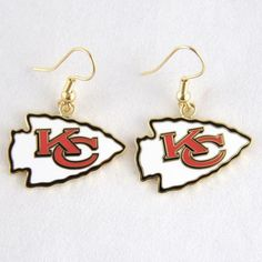 Kansas City Chiefs Logo Wire Earrings, Your Price: $7.99