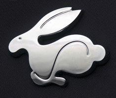 VW rabbit emblem. This is so derpy I love it.