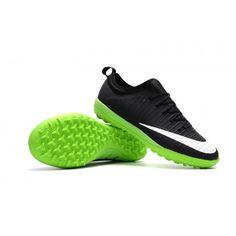 release date: 9bc32 9d983 Buy Men Nike Mercurial Finale II TF Balck Green White Soccer Cleats from  Nike Mercurial Finale