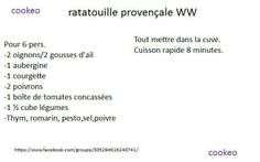RATATOUILLE PROVENCALE WW