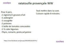 RATATOUILLE PROVENCALE WW