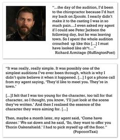 Richard Armitage has got to be one of my all-time fave actors. :D