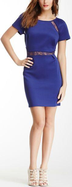 Lace Inset Dress