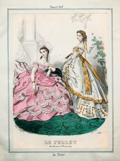 Le Follet, March 1865. LAPL Visual Collections.