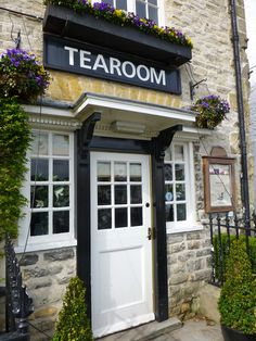 A classic tearoom at the Black Swan, Helmsley...