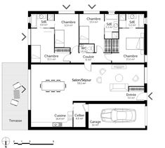 Awesome Plan Maison Jpg that you must know, You?re in good company if you?re looking for Plan Maison Jpg Square House Plans, Architect Design, Good Company, My House, Sweet Home, Floor Plans, Layout, House Design, How To Plan