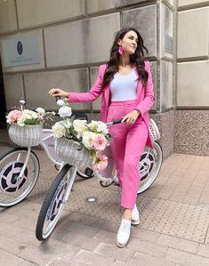 pink suit #springout