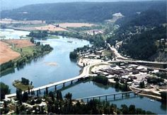 ID:  International Selkirk Loop in Bonners Ferry, ID.  Visit the International Gateway Visitor Center in downtown.
