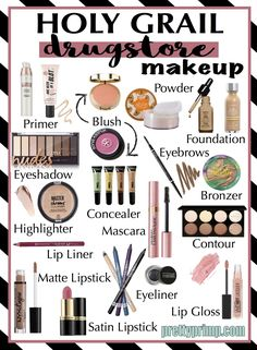 holy grail drugstore makeup Bestes Make Up, Makeup 2018, Prom Makeup, Dupe Makeup