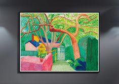 Miguel Angel, Klimt, David Hockney Landscapes, David Hockney Artwork, Pop Art, Kunst Poster, Damien Hirst, Museum, Exhibition Poster
