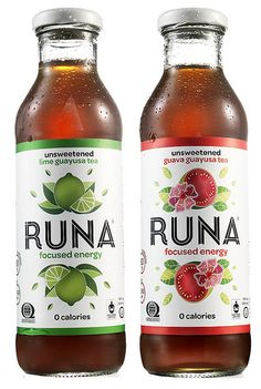 RUNA - a healthy, no crash, all natural energy drink