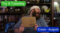 Try it Tuesday - Graze Box August