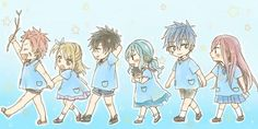 Fairy Tail - so cute! So adorable! Itubutchubutchu!