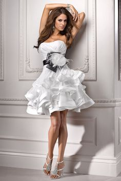 Reception dress....how cute is this dress?  Maggie Sottero:J1483