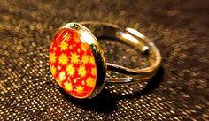 """Ringe - Cabochon-Ring """"Blümchen"""" - ein Designerstück von Soulmate-Works bei DaWanda"""