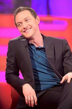 Purest Smile set u free. Love him. JAMES MCAVOY.