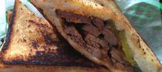 Pork Slope's Brisket Sandwich