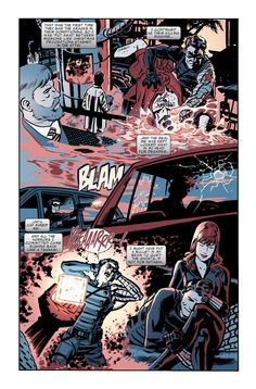 Winter Soldier & Black Widow   chrissamnee:      patrick-minus-rick:          Chris Samnee is a very underrated artist      A few pages from my time doing co-features in Captain America.     Colors by the amazing Bettie Breitweiser.