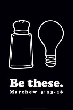 Salt means spice up the world by helping it and adding to it. Light means let others see Jesus by what you do and say. People should see God/Heaven/Jesus/Hope/Life through us and want to have that too!! So give God the Glory! :)