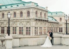 Photography : Melanie Nedelko Photography Read More on SMP: http://www.stylemepretty.com/destination-weddings/2016/08/30/say-yes-in-vienna-with-this-luxury-styled-shoot-in-imperial-vienna-austria/