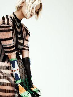 KARLIE'S COUTURE Interview, October 2013 ph. Craig McDean fashion editor: Elin Svahn