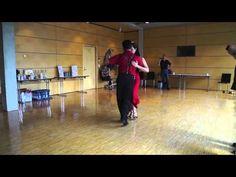 Milonga Lesson Caminando la Milonga Lisa & Basico Traspie Georgina & Oscar Mandagaran - YouTube