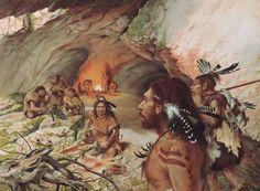 NEOLÍTICO: importantísimo paso para la danza prehistorica al aparecer la figura de hechicero  como organizador y principal protagonista de las danzas y actos rituales que son más colectivas y organizadas. Además cada grupo o poblado desarrollará sus propias danzas.