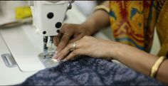 Stitching work at Mehera Shaw. Ethical Brands, Ethical Fashion, Fair Trade, Organic Cotton, Print Design, Artisan, Jaipur India, Prints, Stitching